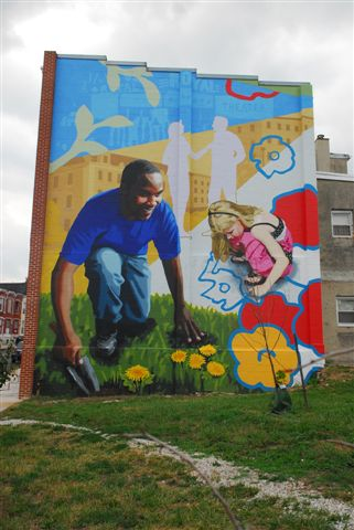 9 7 11 the utility of murals maryland morning with for Baltimore mural program