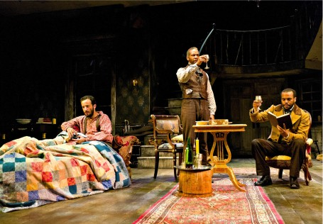 A scene from The Whipping Man, now at Center Stage.