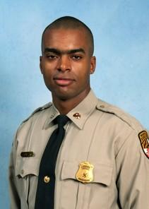 Maryland State Trooper Shaft Hunter.