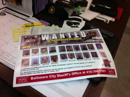 A wanted poster depicts those Operation Mother's Day is targeting.