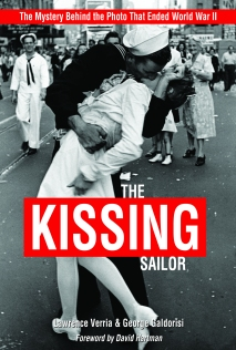 Alfred Eisenstaedt's photo of a sailor kissing a nurse in Times Square on August 14, 1945. Photo courtesy of Naval Institute Press.